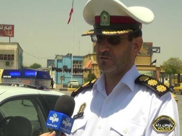 محمد حیدری پلیس راه کرمانشاه