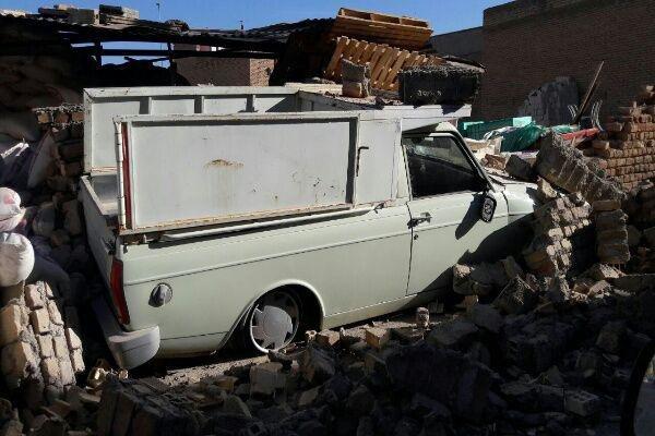 """الآثار المدمرة للزلزال في """"قصر شيرين"""" غرب البلاد"""
