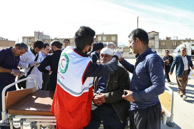 امداد رسانی به زلزله زده های سرپل ذهاب