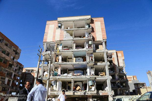 İran'daki deprem sonrası hasardan kareler