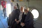 Leader's representatives visit quake-hit areas