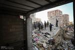 """""""کمپین مردمی کمک به زلزله زدگان"""" در سرای محلات ورودی غربی پایتخت"""