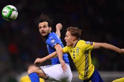 دیدار تیم های ملی فوتبال ایتالیا و سوئد
