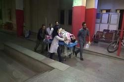 پذیرش مصدومان زلزله کرمانشاه در همدان