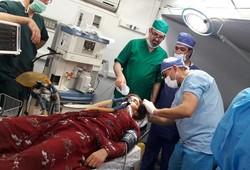 تامین تجهیزات و ملزومات پزشکی مورد نیاز مصدومین زلزله