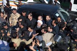 Rouhani visits quake-hit areas in Kermanshah