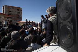 سفر رئیس جمهور به مناطق زلزله زده کرمانشاه