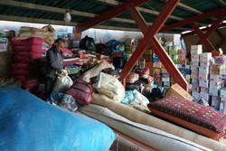 اعزام ۲۵کامیون حامل کمک های تجارواصناف کردستان به مناطق زلزله زده