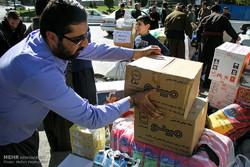 زلزلہ سے متاثرہ صوبوں کے لئے امداد ارسال کرنے کا سلسلہ جاری