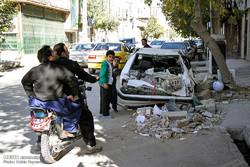 جوانرود میں زلزلہ کے نتیجے میں تباہی