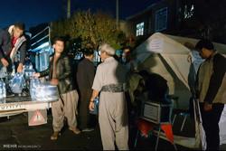 جمع آوری کمک های مردمی مناطق مختلف کردستان برای مناطق زلزله زده
