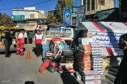 ۲۵ پایگاه هلال احمر در شهریار کمک به زلزله زدگان را جمع می کنند