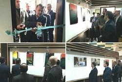 نمایشگاه منتخب دو سالانه «هنرهای تجسمی فجر»در صومعه سرا افتتاح شد