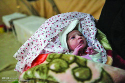 Amid the tragic and heartbreaking scenes of mourning and searching through the rubbles and pulling out dead bodies miracles happened, too. Ava, a baby girl, was born early Tuesday morning in the earth