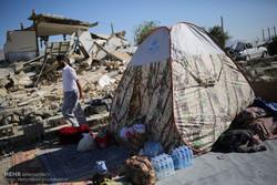 ۸۰درصد نیازها به چادر اقامتی تامین شده است/مردم نقدی کمک کنند