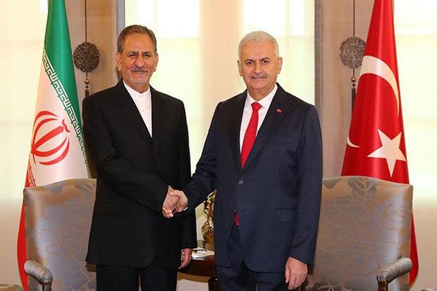 Turkish PM offers condolences for Iran quake victims