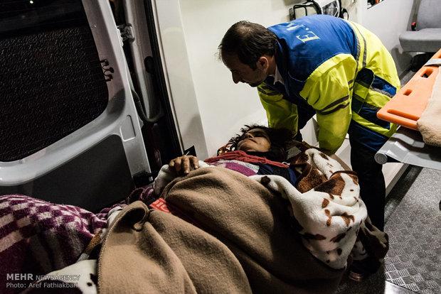 اورژانس تا برقراری«وضعیت سفید»در مناطق زلزله زده مستقر خواهد بود,