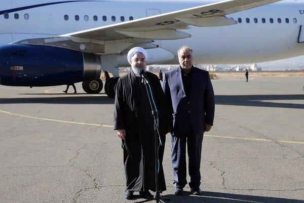 روحاني:  الحكومة ستمنح قروض غير مسترجعة لأهالي المناطق المنكوبة