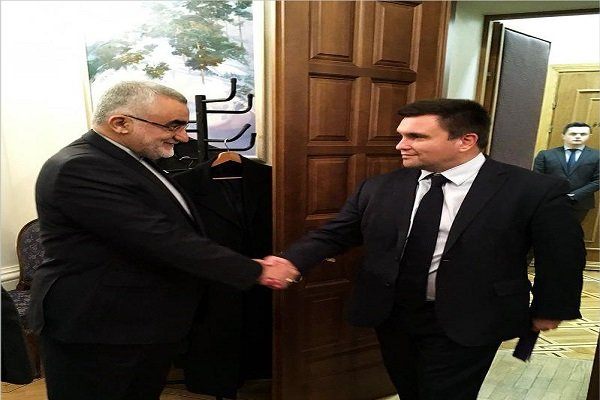 Iran's parliamentary delegation meet Ukrainian foreign minister
