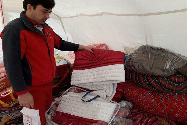 کمک مردمی به زلزله زده ها