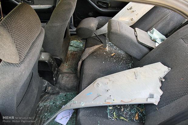 عکس زلزله زلزله کرمانشاه حوادث کرمانشاه اخبار جوانرود