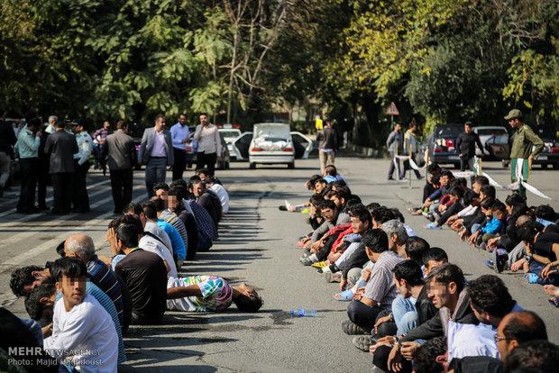 دستگیری ۱۱۰ سارق و انهدام ۲۸ باند سرقت در تهران