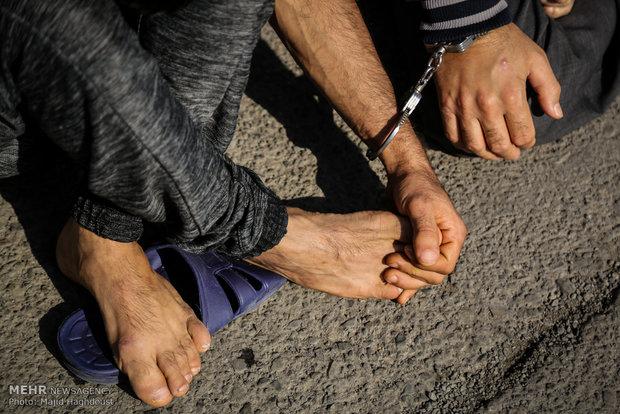 تعقیب و گریز نفس گیر پلیس و سارقان لوازم خودرو در یوسف آباد