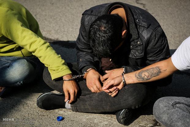 جزییات دستگیری زوج سارق، هنگام فرار