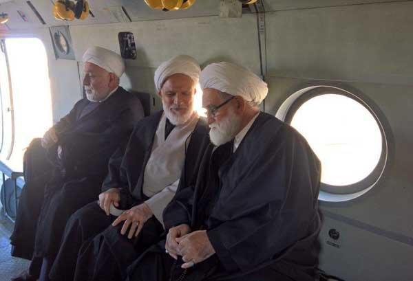 به سرپرستی حجتالاسلام معزی هیئتی از سوی مقام معظم رهبری به نقاط زلزلهزده کرمانشاه سفر کرد