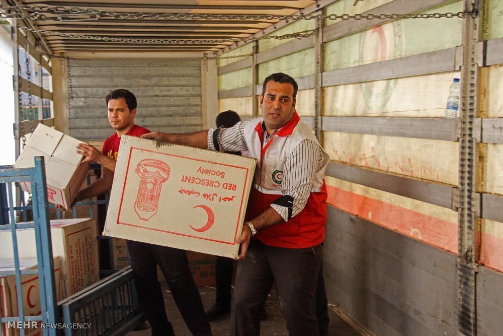ارسال ۱۲۵ هزار ماسک و مواد ضدعفونی کننده برای زلزله زدگان سی سخت