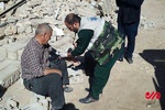 سپاه آذربایجان غربی برای امدادرسانی در مناطق زلزلهزده مستقر شد