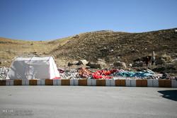 زلزله زدگان شهرستان جوانرود