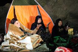 جوانرود میں زلزلہ سے متاثرہ افراد