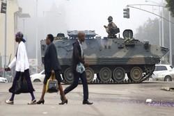 زیمبابوے میں فوجی کودتا