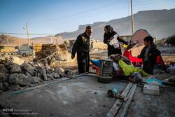 زلزله کرمانشاه، روز سوم