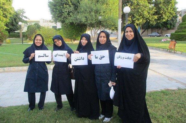 برگزاری کلاسهای آموزشی و همایش پیادهروی هفته دیابت در بوشهر
