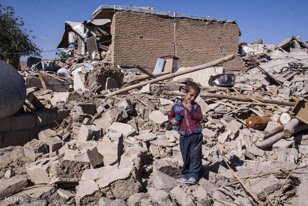 کمکرسانی دانشآموزان به مردم زلزلهزده کرمانشاه