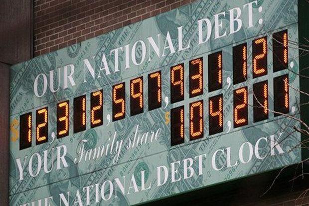 بدهی آمریکا