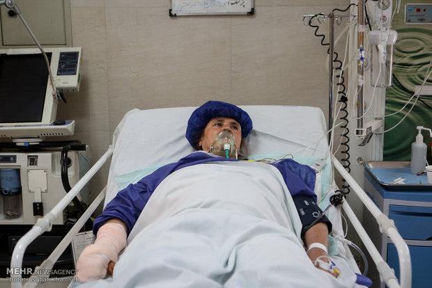 رسیدگی به مصدومان حادثه زلزله کرمانشاه