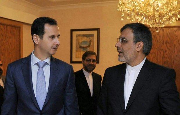 Iranian deputy FM meets Syrian President Assad