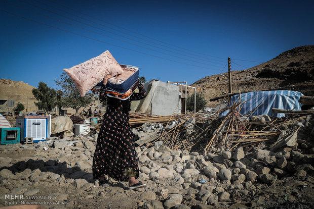 عکس زلزله سر پل ذهاب كرمانشاه زلزله کرمانشاه حوادث کرمانشاه اخبار قصر شیرین