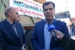 اعزام اولین کاروان کمک های استان به کرمانشاه با بیش از ۶۰ کامیون