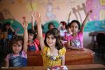 التعليم لم يتوقف تحت نيران الحرب في سوريا / صور