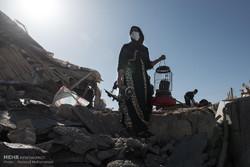 مصائب زلزله تمام نشده است/ زنان حامله و شیرده را دریابید