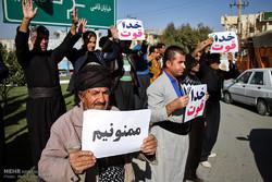 توزیع کمک های مردمی به زلزله زدگان کرمانشاه