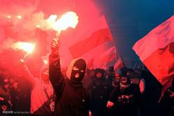 تظاهرات ملی گرایان در روز استقلال لهستان