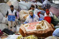جمع آوری کمک های مردمی در استان همدان برای مناطق زلزله زده