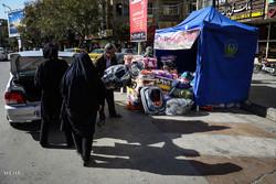 جمعآوری کمکهای نقدی و غیرنقدی برای زلزلهزدگان کرمانشاه