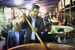 آش نذری شیراز نشان جمع گرایی در انجام کارهای بزرگ است