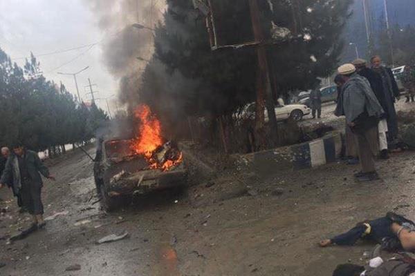 مصرع أربعة أشخاص في تفجير انتحاري في كابل